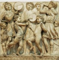Boys Playing Music_Luca Della Robbia_Florence