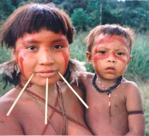 Yanomami_Woman_&_Child_Cmacauley